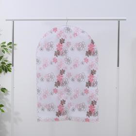 Чехол для одежды, 60×90 см, спанбонд, цвет МИКС - фото 4640135