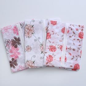 Чехол для одежды, 60×90 см, спанбонд, цвет МИКС - фото 4640139