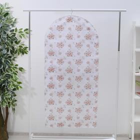 Чехол для одежды, 60×137 см, спанбонд, цвет МИКС - фото 4640130