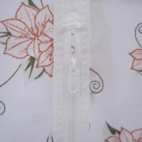 Чехол для одежды, 60×137 см, спанбонд, цвет МИКС - фото 4640131