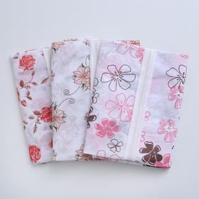 Чехол для одежды, 60×137 см, спанбонд, цвет МИКС - фото 4640133