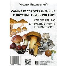 Самые распространенные и вкусные грибы России: как правильно отличить, собрать и приготовить. Вишневский М.В. Ош