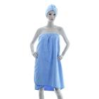 "Комплект для сауны Купу-Купу ""Ева"" (юбка 80х150 см, чалма), махра, 400 г/м2"