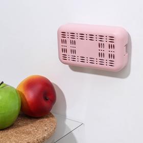 Поглотитель запаха для холодильника, 12×7×3 см, цвет МИКС