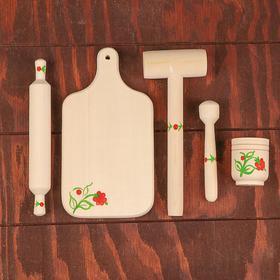 Кухонный набор расписной малый