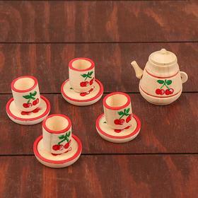 Чайный сервиз на 4 персоны, расписной