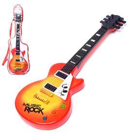 Игрушка музыкальная – гитара «Электро», световые и звуковые эффекты, работает от батареек