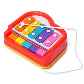 Металлофон с клавишами «Рояль»