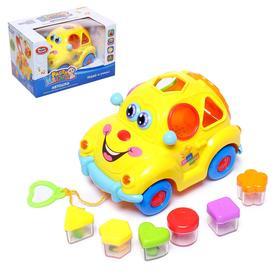 """Развивающая игрушка """"Машинка"""", световые и звуковые эффекты,сортер"""