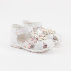 Children's sandals, white, size 30