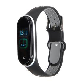 "Фитнес-браслет Smarterra Fitmaster TON, 0.96"", TFT, IP65, NFC, 90 мАч, черно-серый"