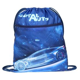 "Мешок для обуви с карманом 490*410 Оникс МО-27-4р, мал, ""Digital auto"" 63349"