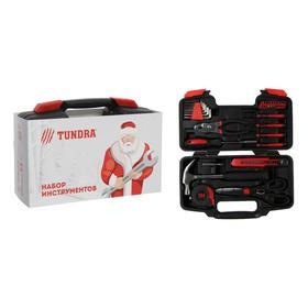 Набор инструментов в кейсе TUNDRA 'С Новым Годом', подарочная упаковка, 39 предметов Ош