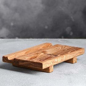 """Доска для суши """"Традиционная"""", 20×13×3 см, массив дуба"""