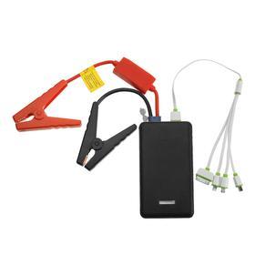 Пуско-зарядное устройство HD03S-4B 6000мАч, 5/12 В, пусковой ток 300 А, черный