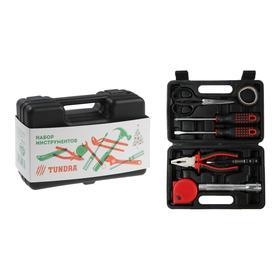 """Набор инструментов в кейсе TUNDRA """"С Новым Годом"""", подарочная упаковка, 8 предметов"""