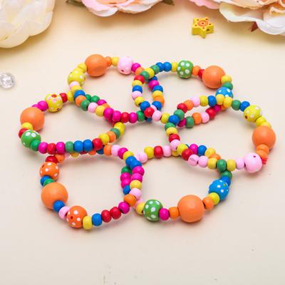 "Bracelet child ""Vibracula"" beads, MIX color"
