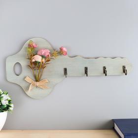 Decorative hooks wood