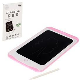 Планшет для рисования LCD, с ручкой, цвет МИКС