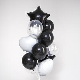 Букет из шаров «Стиль всегда в тебе», фольга, латекс, набор 14 шт.