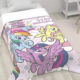 """Покрывало """"Friends""""  My Little Pony 1,5 сп, 145х210 см, микрофибра"""