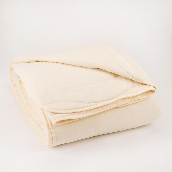 Одеяло Царские сны Верблюжья  шерсть 172х205 см, сливочный, перкаль (хлопок 100%), 200г/м2 - фото 61653