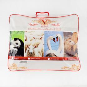 Одеяло Царские сны Верблюжья  шерсть 172х205 см, сливочный, перкаль (хлопок 100%), 200г/м2 - фото 61656
