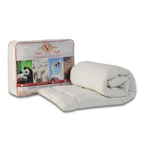 Одеяло Царские сны Верблюжья  шерсть 172х205 см, сливочный, перкаль (хлопок 100%), 200г/м2 - фото 61657