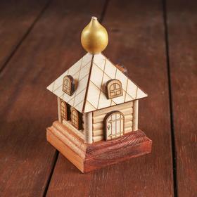 Конструктор деревянный «Деревенька.Часовня большая»
