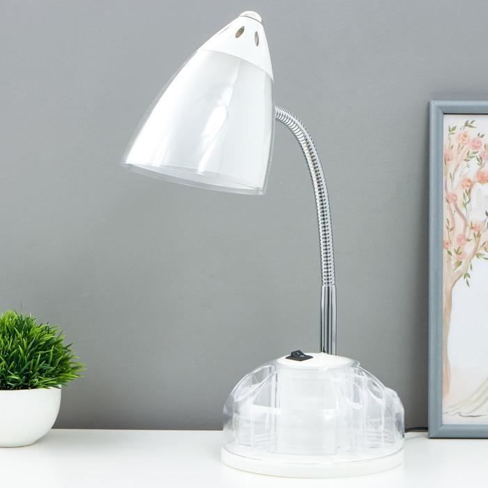 Лампа настольная UT-715 на подставке, прозрачный, h=51 см - фото 1872225
