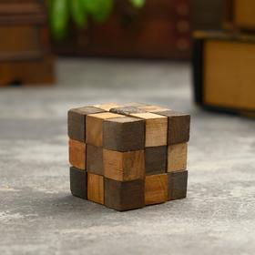 "Головоломка из дерева ""Кубик"" 5,5х5,5х5,5 см"