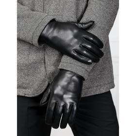 Перчатки мужские, размер 9.5, цвет чёрный
