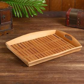 """Поднос бамбук """"Богор""""  43х33х5 см"""