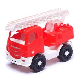 Пожарная машина «Ярослав» красная, 16 см