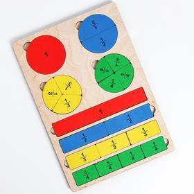 Игра развивающая деревянная «Часть и целое»