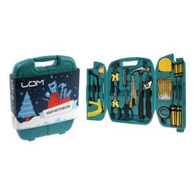 Набор инструментов в кейсе LOM 'С Новым Годом', подарочная упаковка, 27 предметов Ош