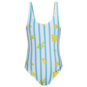 Купальник детский Elous «Рыбки», цвет жёлтый/голубой, рост 116 см (3-4 года)
