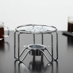 {{photo.Alt    photo.Description    'Подставка для чайника со свечкой Доляна «Романтика», 11,5×11,5×9 см'}}