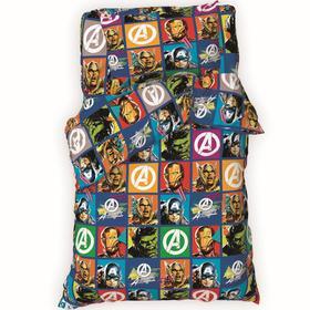 """Детское постельное белье 1,5 сп """"Avengers"""" 143*215 см, 150*214 см, 50*70 см -1 шт"""