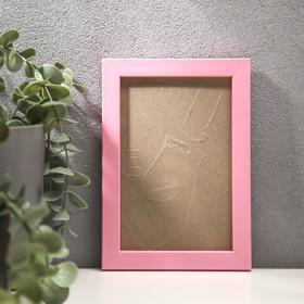 Photo frame plastic 10x15 pink