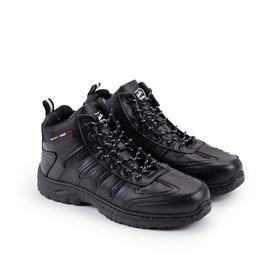 Кроссовки мужские, цвет чёрный, размер 40