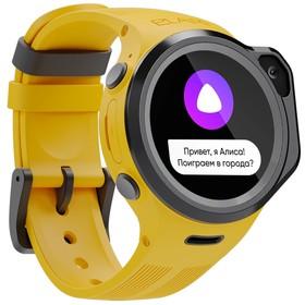 """Смарт-часы Elari KidPhone 4 Fresh, детские, цветной дисплей 1.3"""", микрофон, камера, зеленые"""