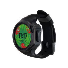 """Смарт-часы Elari KidPhone 4GR, детские, цветной дисплей 1.3"""", камера, помощник Алиса, черные"""