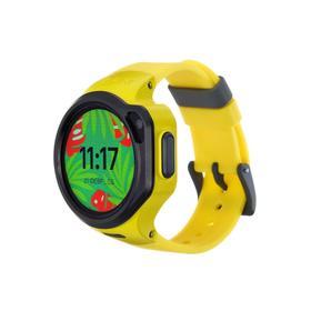 """Смарт-часы Elari KidPhone 4GR, детские, цветной дисплей 1.3"""", камера, помощник Алиса, желтые"""