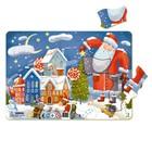 Пазл в рамке 21 элемент «Зимние чудеса»
