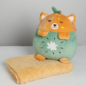 """Soft toy """"bear"""" with a blanket"""