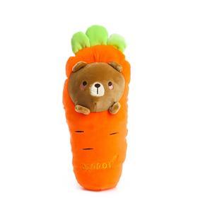 Мягкая игрушка «Морковка», медведь