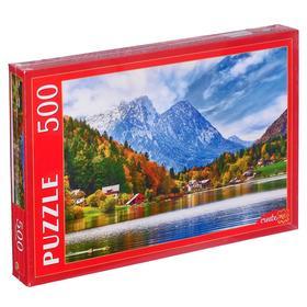 Пазлы 500 элементов «Австрия. Озеро Грундльзе»