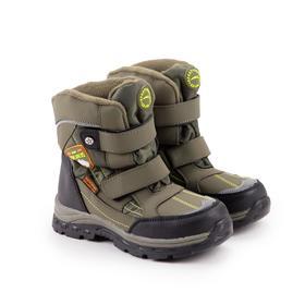 Ботинки детские, цвет зелёный, размер 33