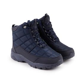 Ботинки мужские, цвет синий, размер 44